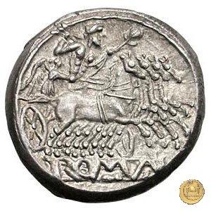 didramma o quadrigato 225-214BC