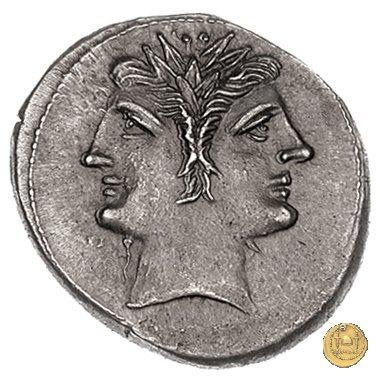 didramma o quadrigato con spiga di grano 214-212a.C. (Sicilia)