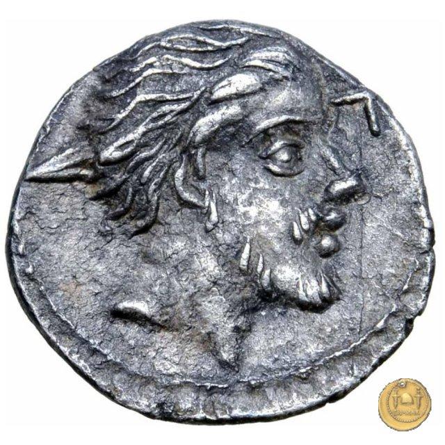 sesterzio C. Licinius L.f. Macer 84BC