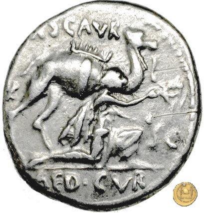422/1 - denario M. Aemilius Scaurus / P. Plautius 58BC (Roma)
