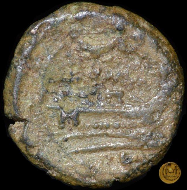 61/7 - oncia 211-208a.C. (Italia Centrale)